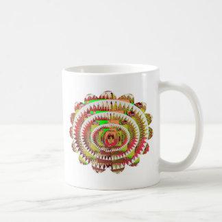 Girasol del estilo de Chakra Tazas De Café