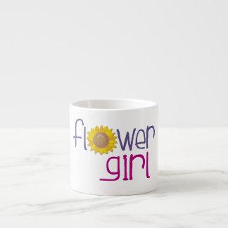 Girasol del florista taza espresso