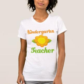 Girasol del maestro de jardín de infancia poleras