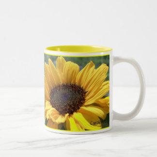 Girasol del oro taza
