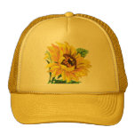 Girasol del sombrero gorros