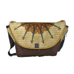 Girasol del violín bolsas de mensajeria
