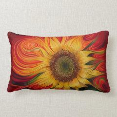 Girasol Dinámico Pillow