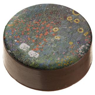 Girasol en el nouveau del arte de Gustavo Klimt