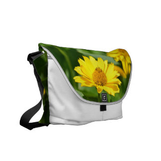 Girasol falso bonito bolsa messenger