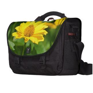 Girasol falso bonito bolsa de ordenador