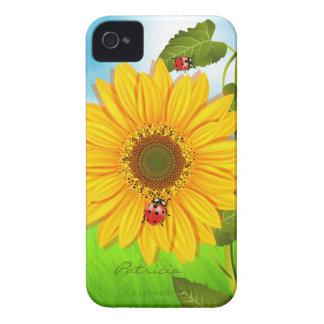 Girasol Case-Mate iPhone 4 Protectores