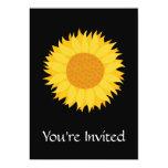 Girasol Invitación 12,7 X 17,8 Cm