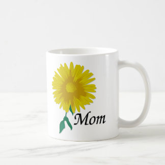 Girasol para la mamá taza