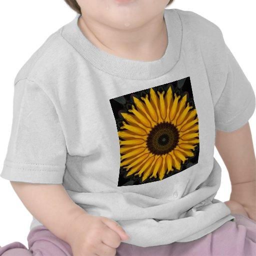 Girasol perfecto camisetas