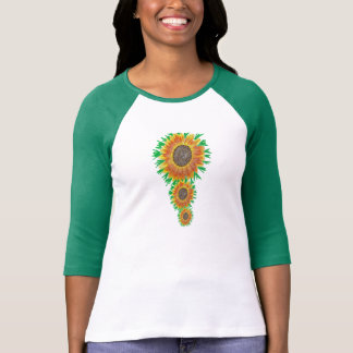 girasol camiseta