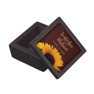 Girasol que casa la caja de regalo superior caja de regalo de calidad
