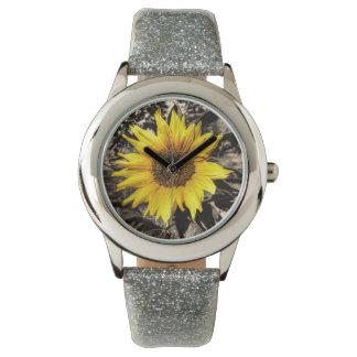 Girasol Reloj De Mano