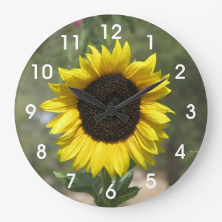Girasol Reloj Redondo Grande