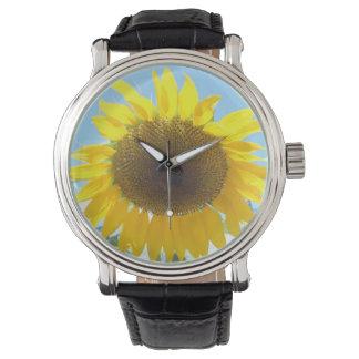 Girasol Relojes De Pulsera