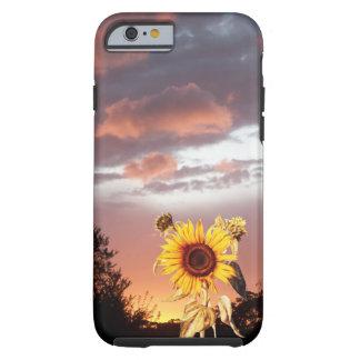 GIRASOL Y PUESTA DEL SOL DEL VERANO FUNDA RESISTENTE iPhone 6