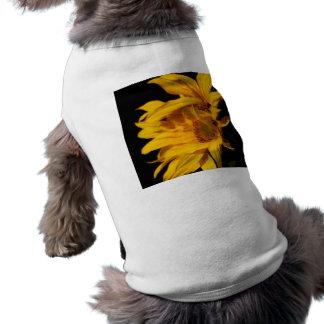 Girasol y significado playera sin mangas para perro