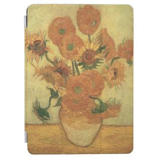 Girasoles 1889 aceite en lona cubierta de iPad air