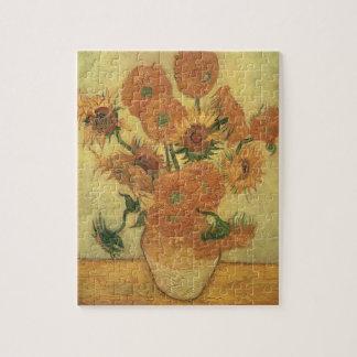 Girasoles, 1889 (aceite en lona) rompecabeza con fotos