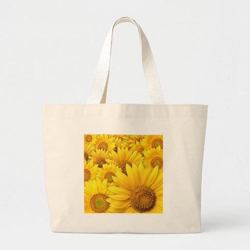 Girasoles amarillos bolsas