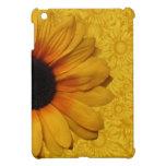 Girasoles amarillos hermosos iPad mini coberturas