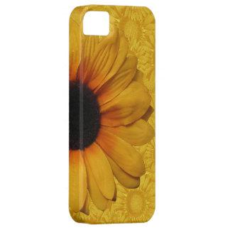 Girasoles amarillos hermosos iPhone 5 fundas