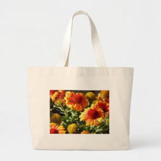 Girasoles anaranjados bolsas