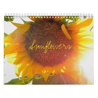 Girasoles Calendario De Pared
