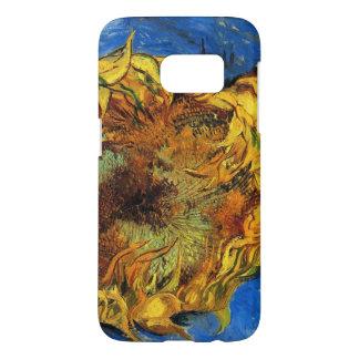 Girasoles cortados de Van Gogh dos, bella arte del Funda Samsung Galaxy S7