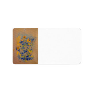 Girasoles de Berthe Morisot Etiquetas De Dirección