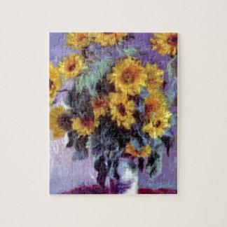 Girasoles de Claude Monet Puzzles Con Fotos