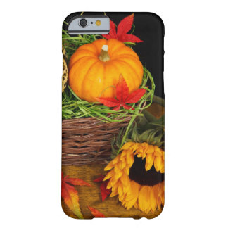 Girasoles de la cosecha de la caída funda barely there iPhone 6