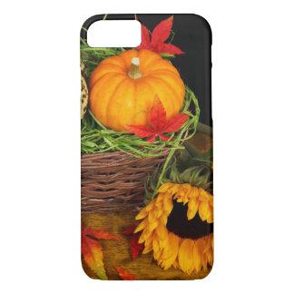 Girasoles de la cosecha de la caída funda iPhone 7
