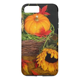 Girasoles de la cosecha de la caída funda iPhone 7 plus