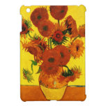 Girasoles de Van Gogh 15 iPad Mini Funda