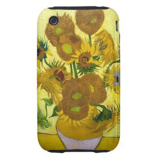 Girasoles de Van Gogh 15 iPhone 3 Tough Cárcasas