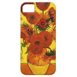 Girasoles de Van Gogh 15 iPhone 5 Carcasas