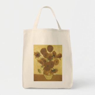 Girasoles de Van Gogh Bolsa Tela Para La Compra