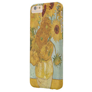 Girasoles de Van Gogh Funda Para iPhone 6 Plus Barely There