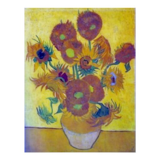 Girasoles de Van Gogh Impresiones