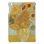 Girasoles de Van Gogh iPad Mini Protectores