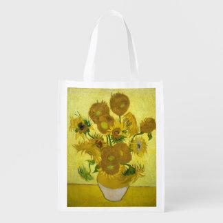 Girasoles de Vincent van Gogh Bolsa Para La Compra