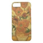 Girasoles de Vincent van Gogh el  , 1889 Funda iPhone 7