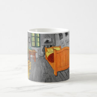 Girasoles de Vincent van Gogh en taza del regalo