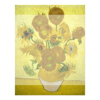 Girasoles de Vincent van Gogh Tarjetones