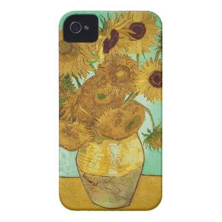 Girasoles de Vincent van Gogh iPhone 4 Funda
