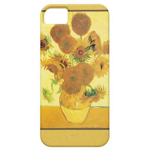 Girasoles de Vincent van Gogh iPhone 5 Case-Mate Protector
