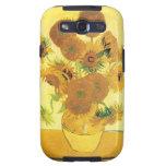 Girasoles de Vincent van Gogh Samsung Galaxy S3 Coberturas