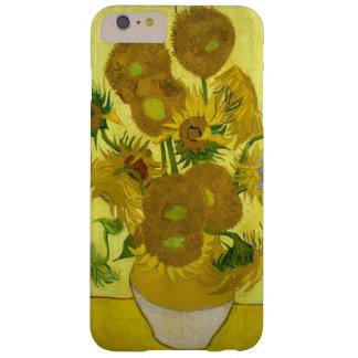 Girasoles de Vincent van Gogh Funda De iPhone 6 Plus Barely There