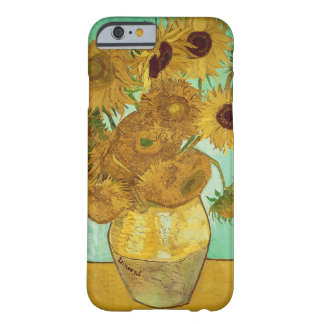 Girasoles de Vincent van Gogh Funda De iPhone 6 Barely There